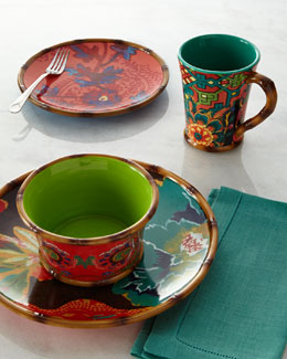 Poetic Wanderlust 16-Piece Eden Ranch Dinnerware Service
