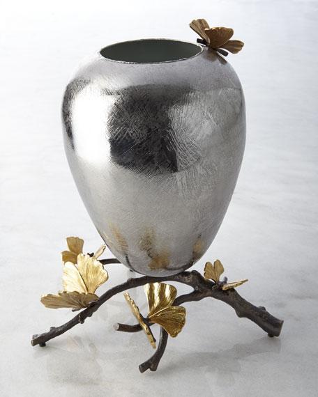 Michael Aram Medium Butterfly Ginkgo Vase