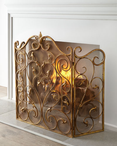 Vivienne Fireplace Screen