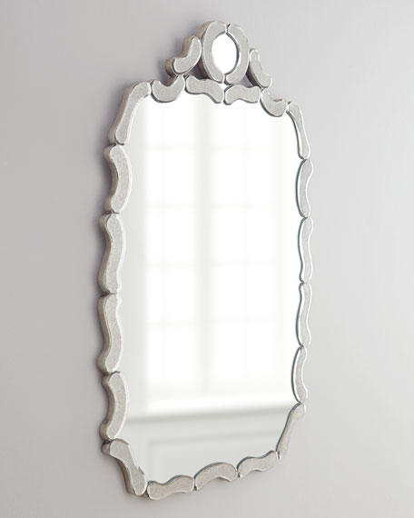 Antiqued Nicole Mirror