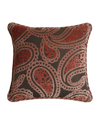Austin Horn Collection Bathshira Paisley Pillow