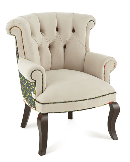 Image 4 of 4: Haute House Cream Peacock Chair