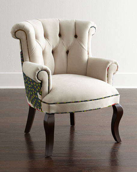 Image 1 of 4: Haute House Cream Peacock Chair