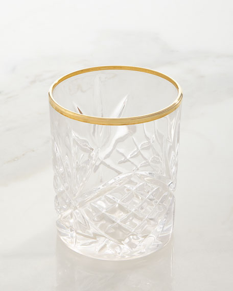 Godinger Dublin Gold Crystal Glassware & Matching Items
