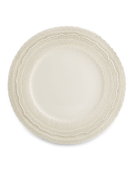 Arte Italica Finezza Cream Charger Plate