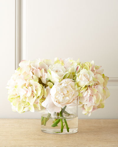 Amour Pastel Faux Flowers