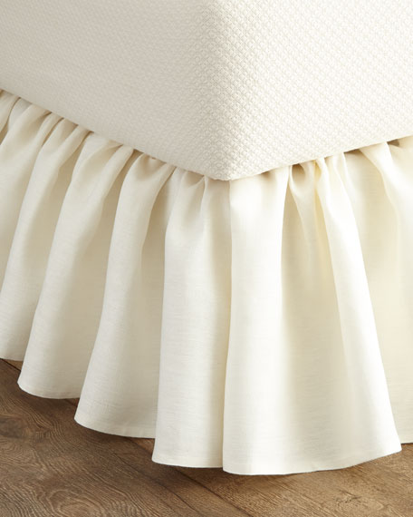 Queen Imperia Linen Dust Skirt