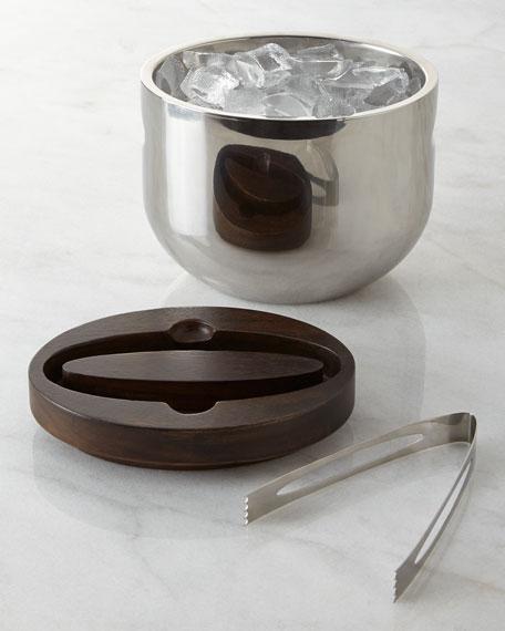Nambe Espresso Mikko Ice Bucket