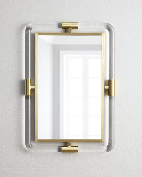 Jonathan Adler Jacques Acrylic Mirror