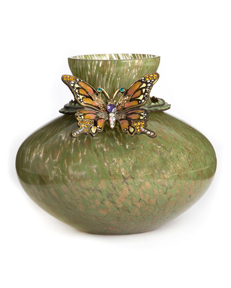 Lorelei Butterfly Vase