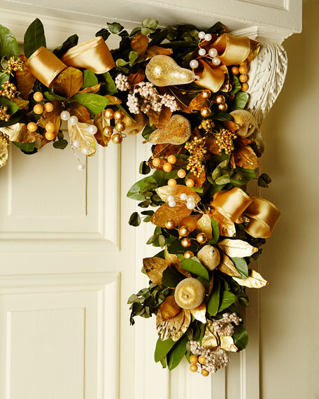 Classic Elegance 6' Christmas Garland