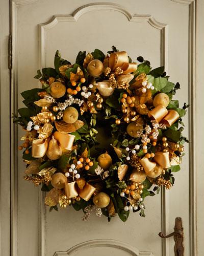 "Classic Elegance 30"" Christmas Wreath"