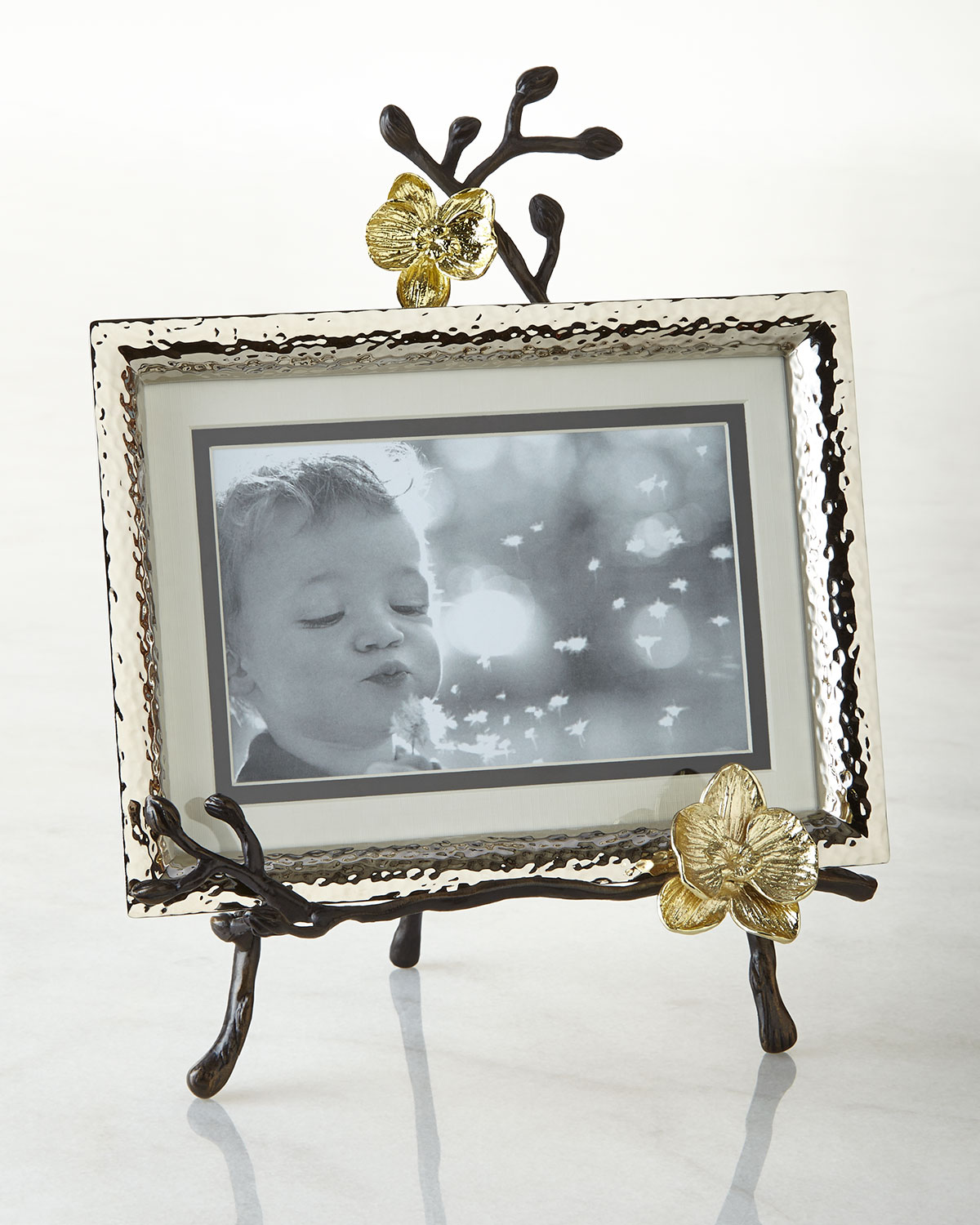 Gold plated photo frame neiman marcus quick look jeuxipadfo Images
