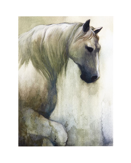 """""""Noble Steed"""" Print"""