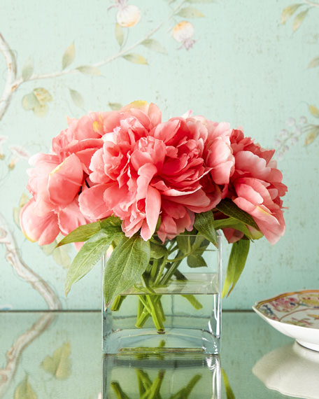 Petite Peony Faux Floral