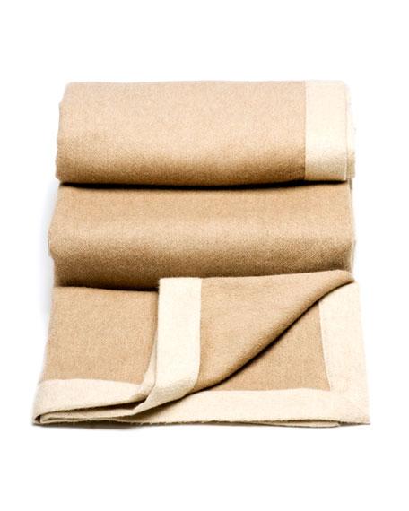 Camel Cashmere Blanket
