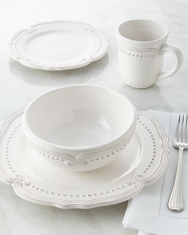 16-Piece Bianca Victoria Dinnerware Service & 16-Piece Lyria Teal Dinnerware Service | Neiman Marcus