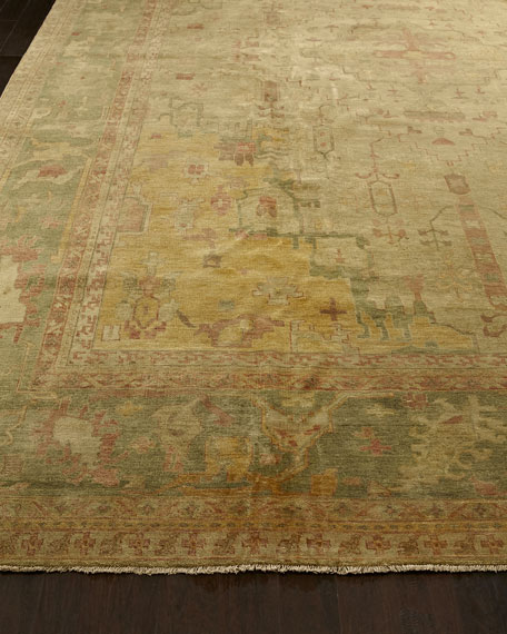 Empire Oushak Rug, 10' x 14'