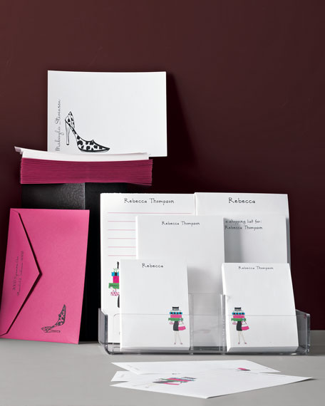 50 Stiletto Correspondence Cards with Envelopes