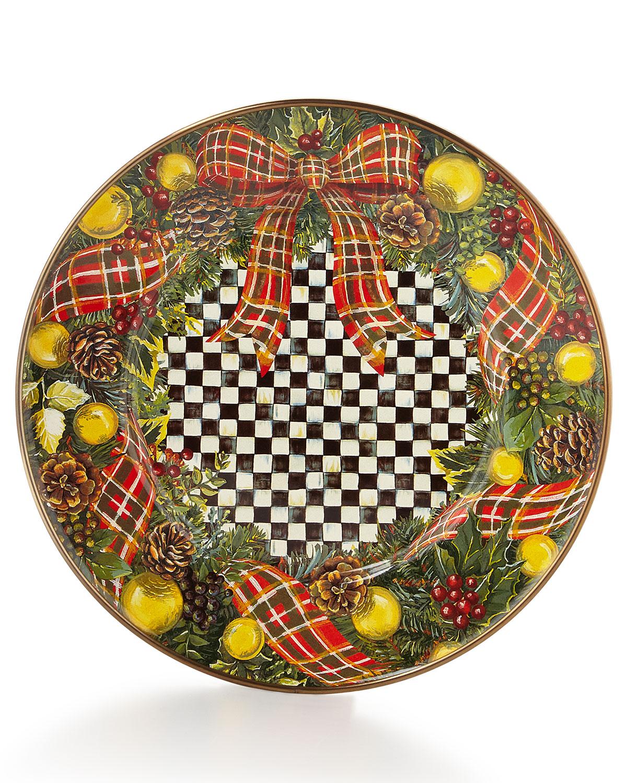 f39d532416a7 MacKenzie-Childs Evergreen Salad Plate