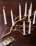 Image 2 of 2: Gilded Branch Centerpiece
