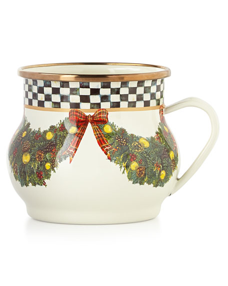 MacKenzie-Childs Evergreen Mug