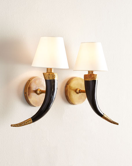 Arteriors Two Diana Sconces