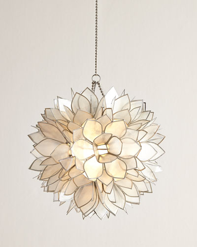 Flower Burst One-Light Mini Pendant