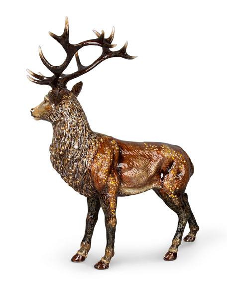 Terence Stag Figurine
