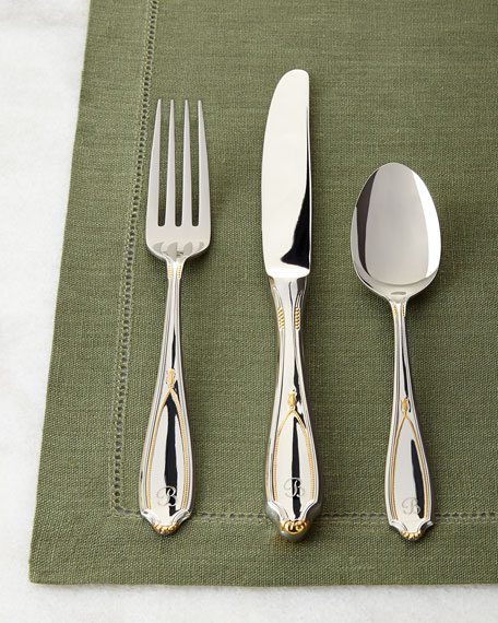 Yamazaki Tableware 20-Piece Victoria Personalized Flatware Service