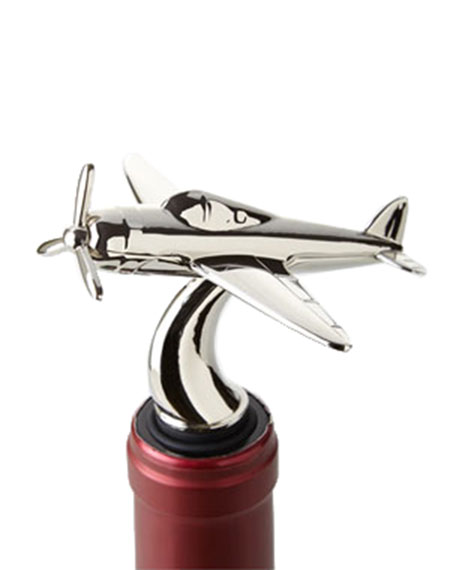 Godinger Airplane Bottle Stopper