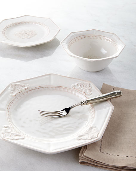 NM EXCLUSIVE 12-Piece Medallion Dinnerware Service