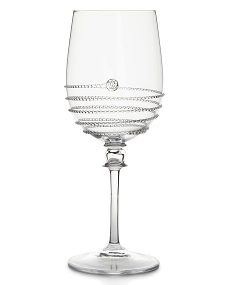 Juliska Amalia Full Body Wine Glasses & Matching