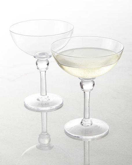 Simon pearce hartland champagne coupe neiman marcus - Waterford champagne coupe ...