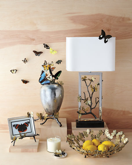 Image 2 of 3: Michael Aram Butterfly Ginkgo Candle