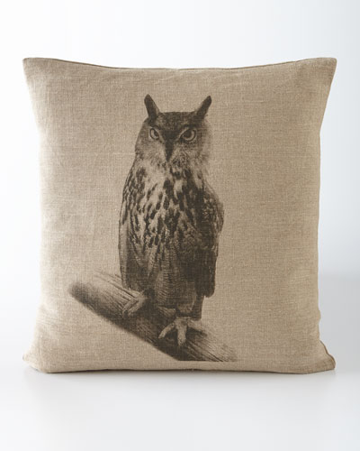 """Hoot"" Pillow"