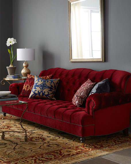 cranberry living room haute house mr smith cranberry sofa 11082