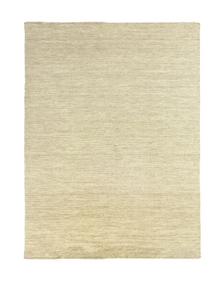 Heathered Flatweave Rug, 9' x 12'
