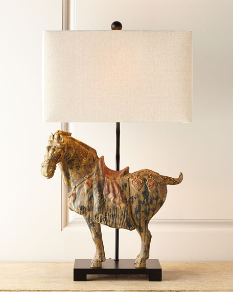 Regina Andrew Design Dynasty Horse Lamps