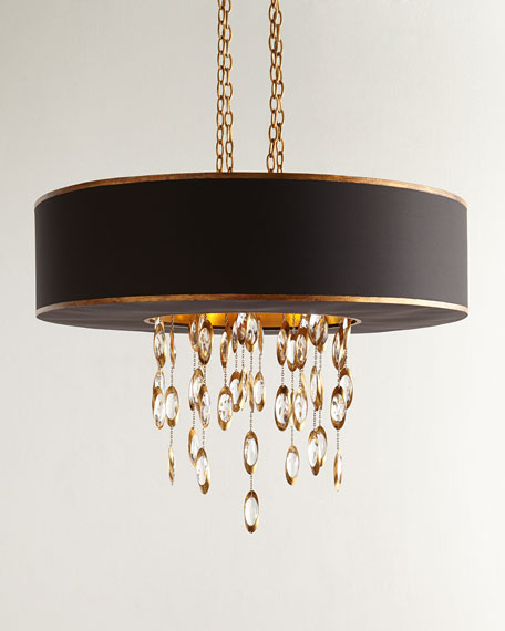John-Richard Collection Black Tie 11-Light Chandelier