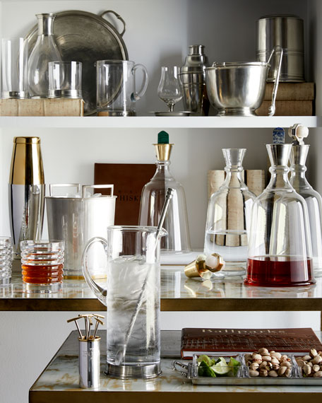 Ralph Lauren Home Two Metropolis Double Old-Fashioned Glasses