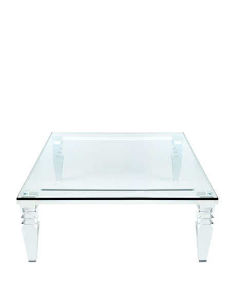 Christelle Acrylic Coffee Table