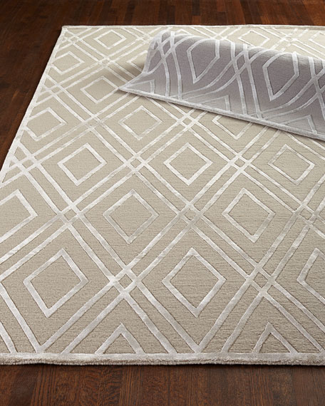 Jewel Point Rug, 9' x 12'