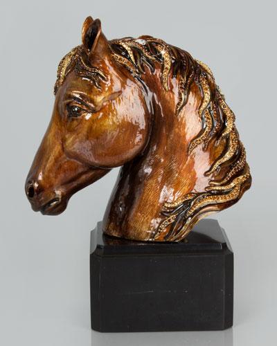 Jackson Horse Head Sculpture