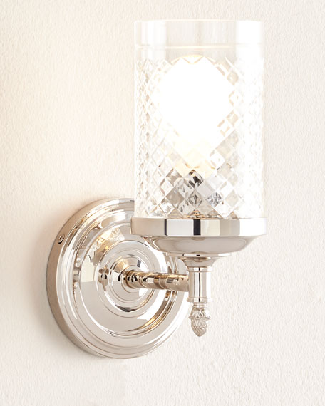Visual Comfort Lita Polished-Nickel Sconces