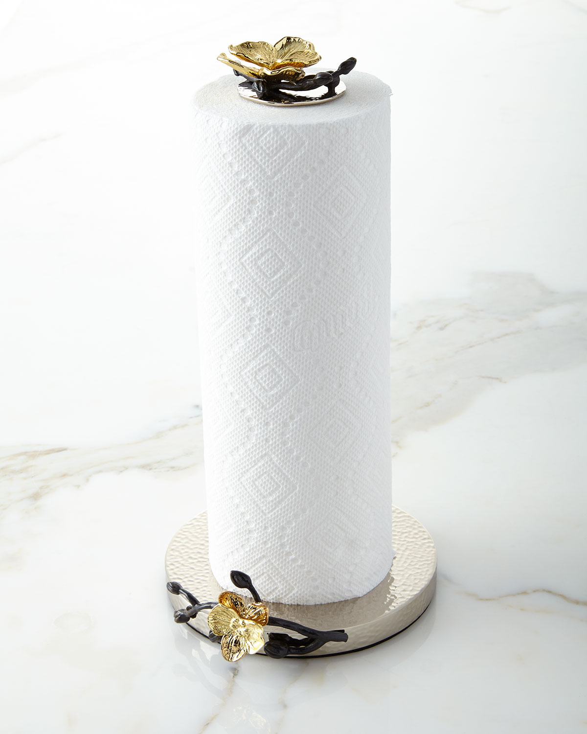 Michael Aram Gold Orchid Paper Towel Holder Neiman Marcus