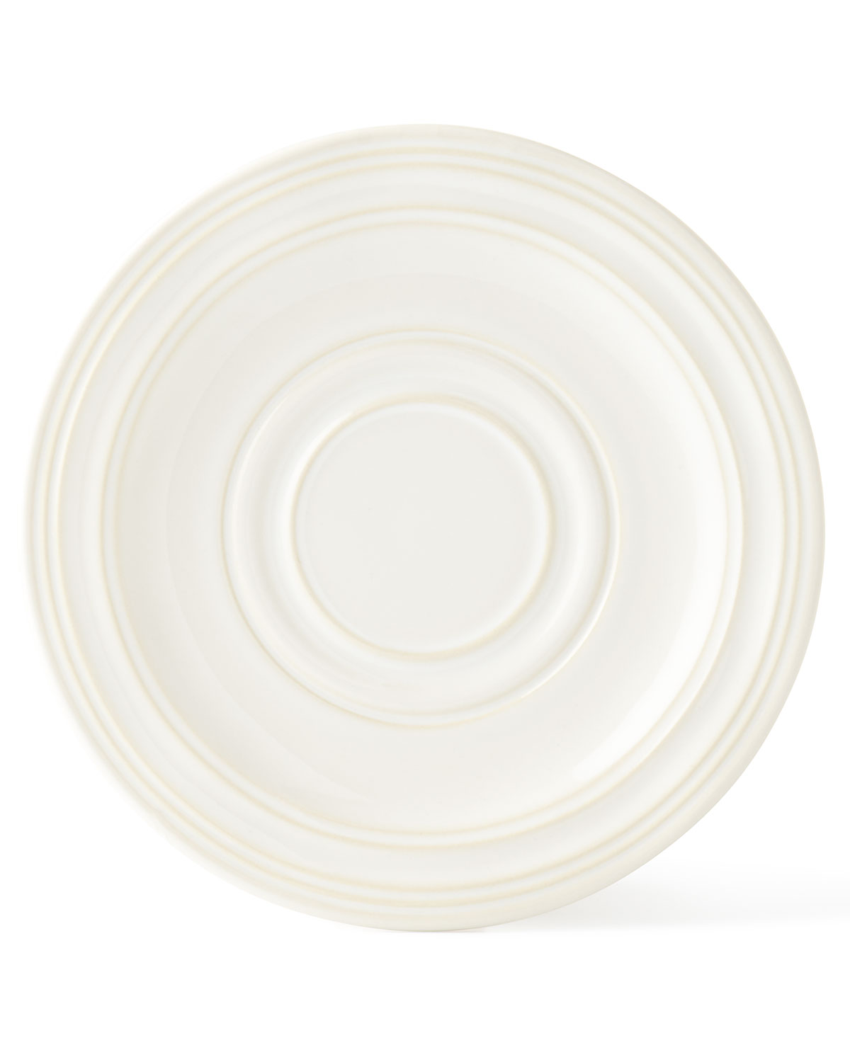 Juliska Acanthus Whitewash Saucer