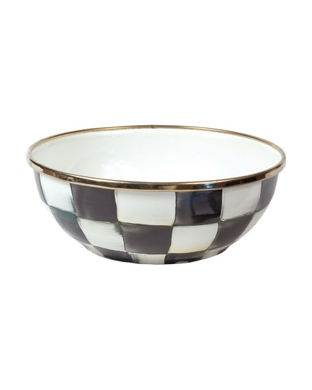 MacKenzie-Childs Courtly Check Everyday Bowl