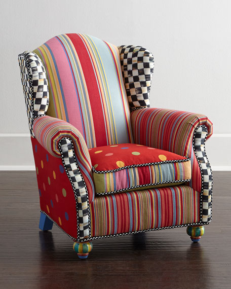 Mackenzie Childs Wee Wing Chair