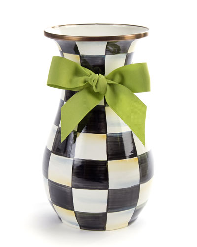 Courtly Check Tall Vase